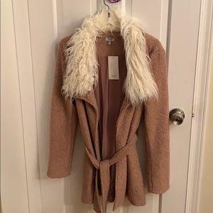 Tobi | Fur Collar Coat | S